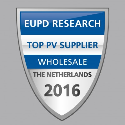 Awards EUPD Research Top PV Supplier Wholesale